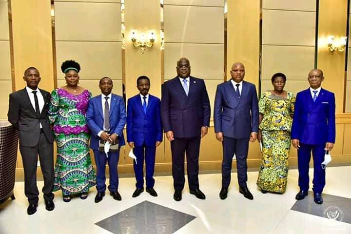 Assemblée nationale : première réunion de prise de contact entre Félix Tshisekedi et les nouveaux membres du bureau définitif