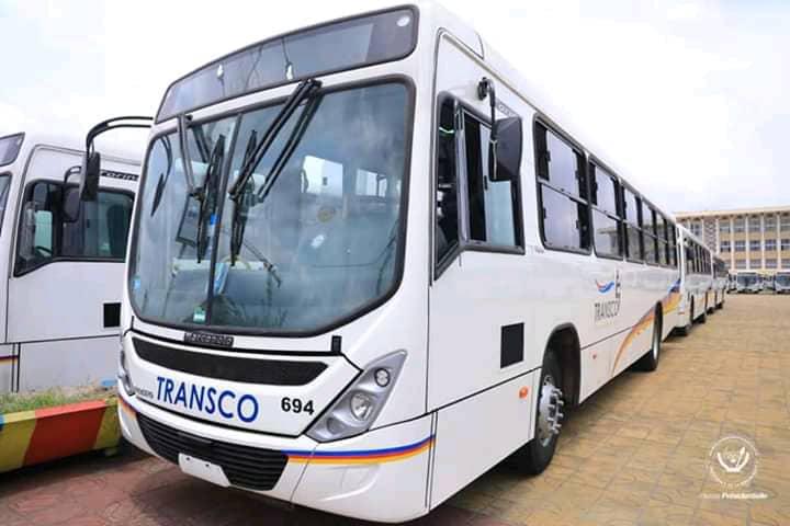 """Mise en circulation des nouveaux bus Transco : """"ne les vandalisez pas, ne les détruisez pas"""" (Gentiny Ngobila aux Kinois)"""