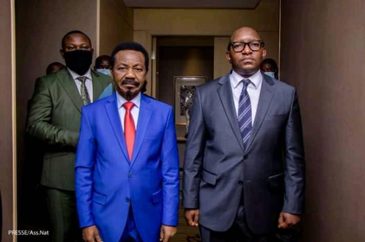 RDC : Échange entre Sama Lukonde et Mboso N'kodia