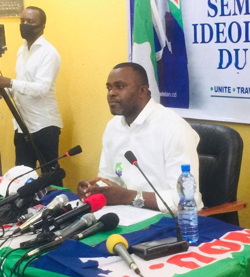 Le Nouvel Elan d'Adolphe Muzito promet de mener les actions pour obtenir l'expulsion de l'ambassadeur du Rwanda en RDC