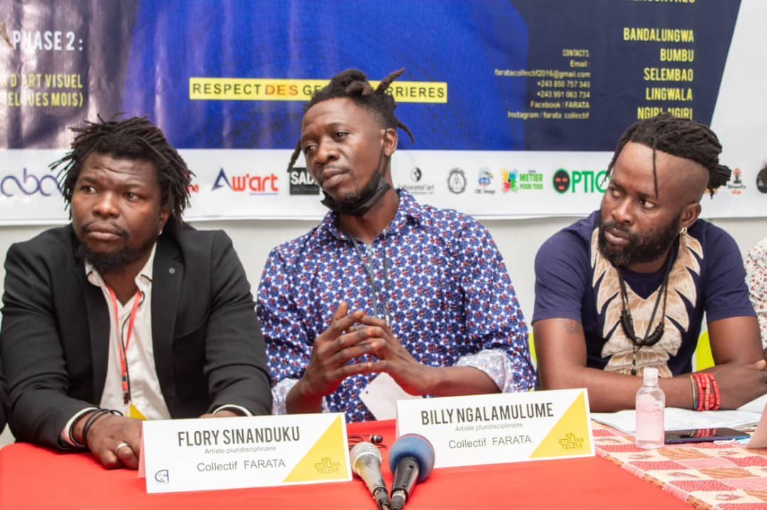 Kinshasa/Arts : lancement officiel ce mardi du projet Kin-Etelemi-Telemi