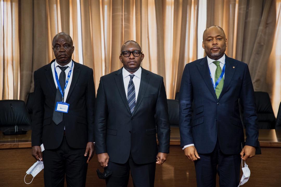 Consultations/Gouvernement : Mobutu Giala a conduit la délégation du regroupement Zaïre chez le Premier ministre Sama Lukonde