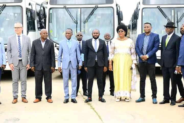 Société : 110 nouveaux bus Transco réceptionnés à Boma ce dimanche