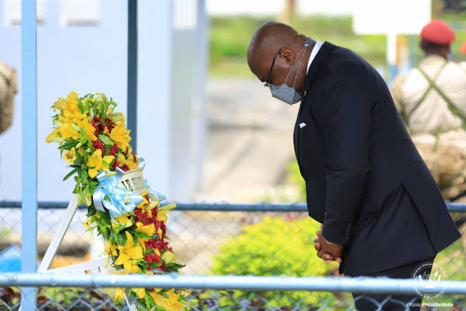 RDC: hommage du président de la République à Étienne Tshisekedi pour la 4e année de sa disparition