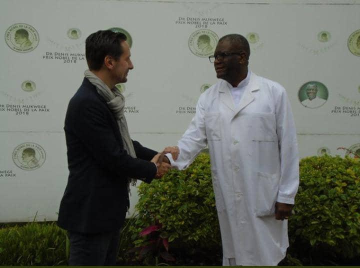 """RDC: Dénis Mukwege """"consterné"""" par le décès de l'ambassadeur italien en RDC"""