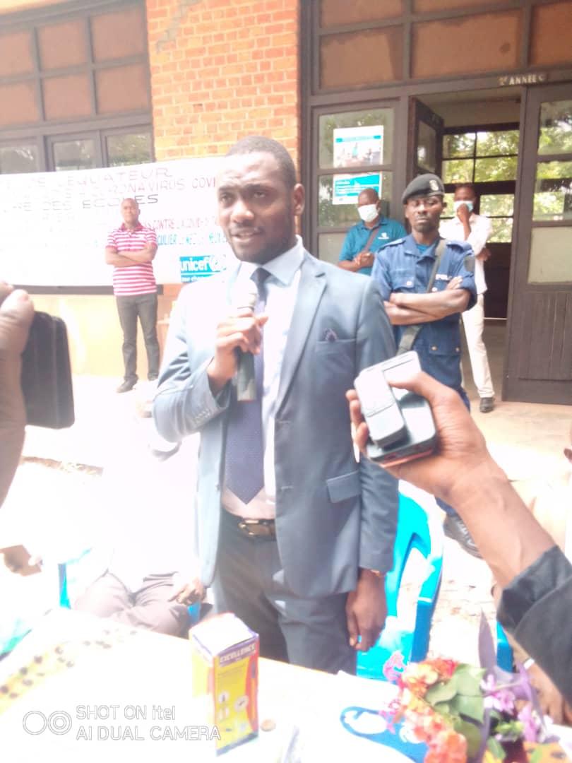 Mbandaka : le ministre provincial de l'éducation, Trésor Bisalu a présidé la cérémonie marquant la reprise des cours