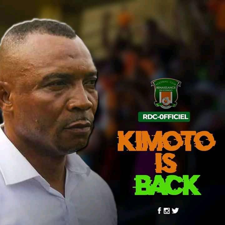 RDC/Football : Papy Kimoto de retour sur le banc du FC Renaissance du Congo