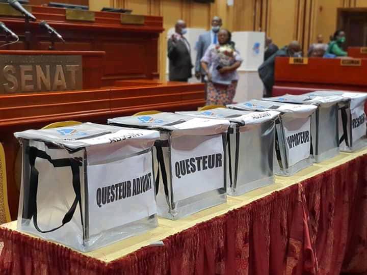 Sénat/Élection questeur : Carole Agito et Fikiri Alimasi passent au 2e tour