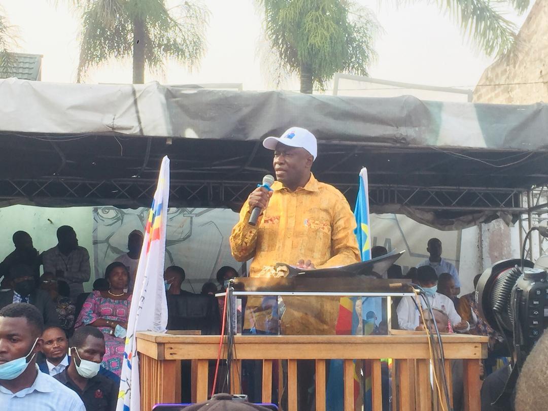 Élections 2023: « je n'ai jamais vu un étudiant qui a bien préparé la matière avoir peur de la session » (Augustin Kabuya)