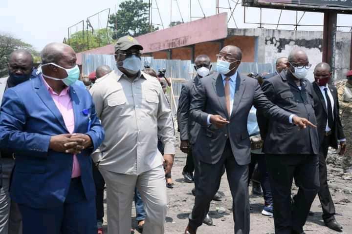 Kinshasa : Félix Tshisekedi annonce la reconstruction du grand marché Zando