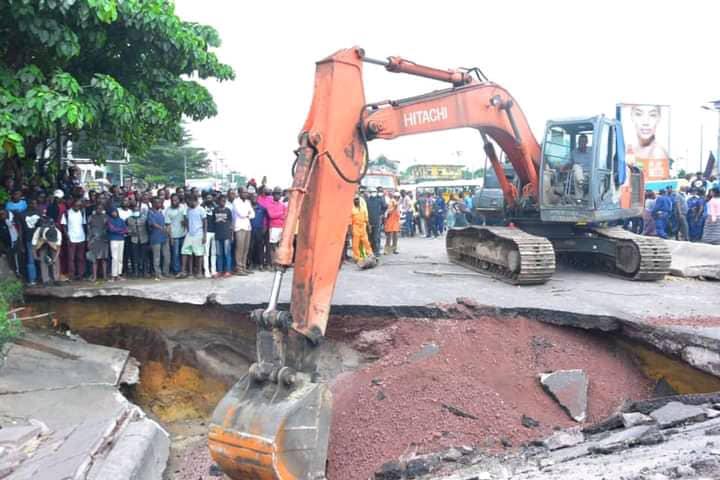 Kinshasa : début des travaux au pont de la rivière N'djili