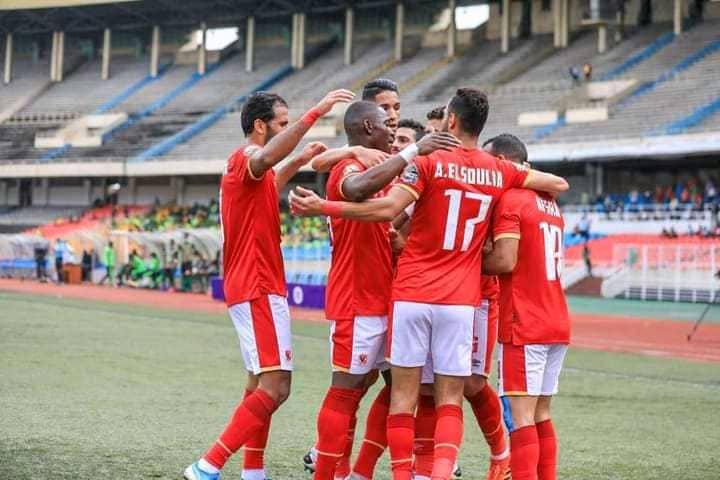 CAF/C1: Al Ahly surclasse V.club à domicile