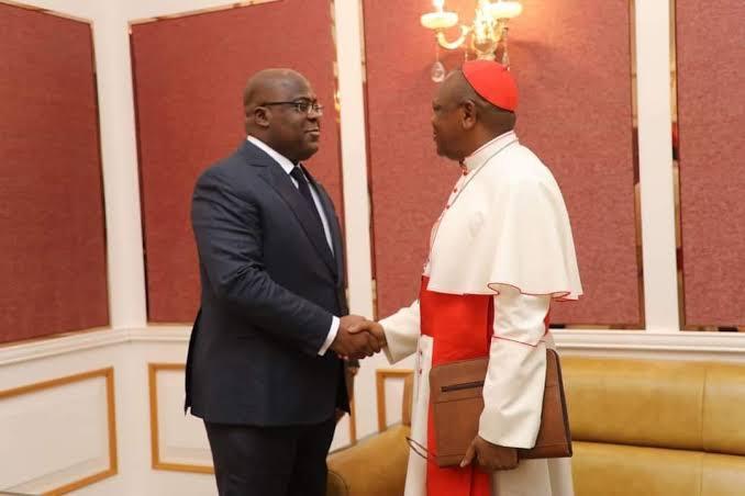 RDC : « les rapports entre l'église Catholique et le pouvoir actuel sont au beau fixe » (Cardinal Fridolin Ambongo)