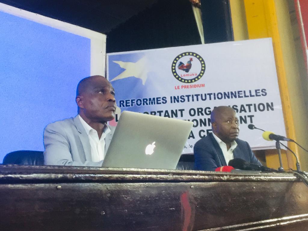 Réformes électorales : Martin Fayulu et Adolphe Muzito en campagne de vulgarisation devant les étudiants ce samedi