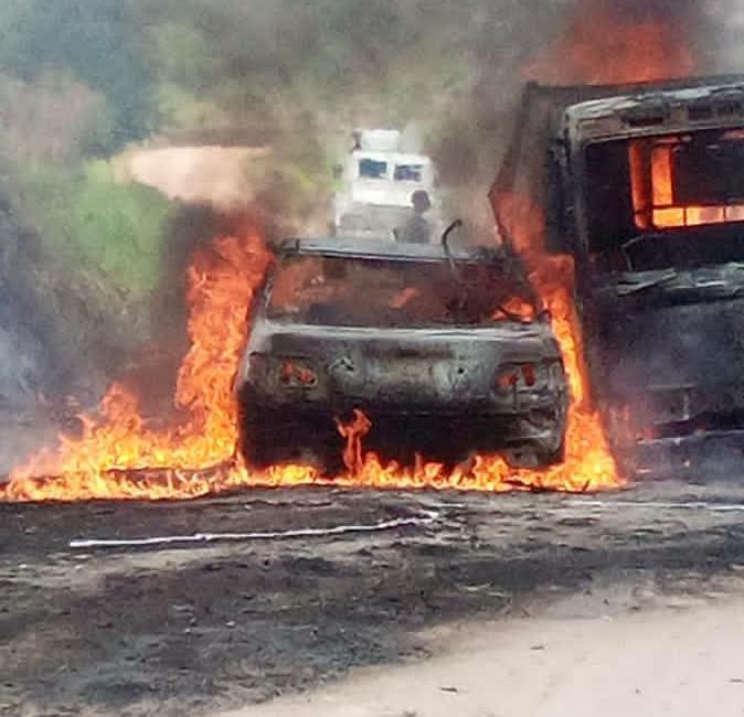 Beni : 4 personnes périssent dans une embuscade tendue par des rebelles ADF sur l'axe Beni-Kasindi