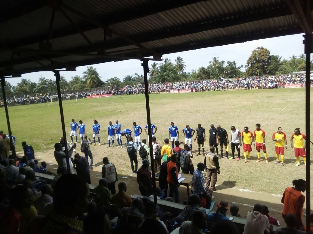 Mwene-Ditu/Foot : Le championnat local démarre le 31 mars au stade Bondoyi