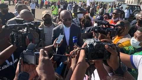 Kasaï oriental : le ministre des travaux publics Willy N'GOPOSS à Mbujimayi pour le lancement de Tshilejelu