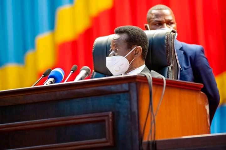 Assemblée nationale : Mboso N'kodia interpelle ses collègues députés du grand Kivu à quitter les groupes armés