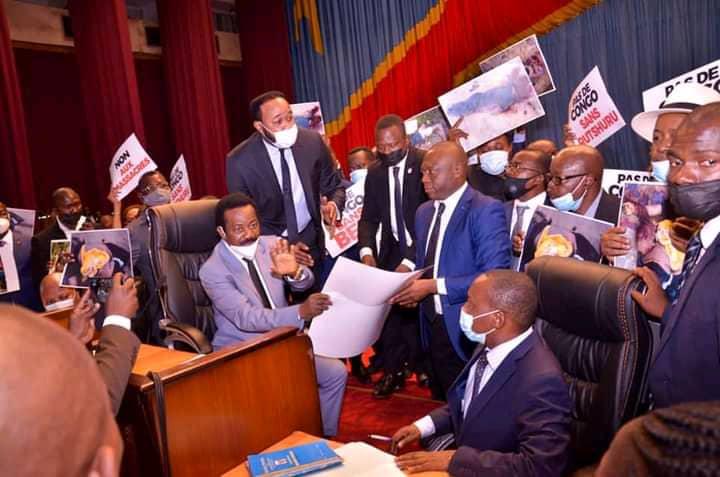 Après son interpellation aux élus du Grand Kivu, Mboso N'kodia estime que ses propos ont été sortis de leur contexte (communiqué)