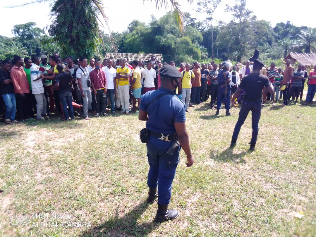 Équateur : manifestation devant l'Institut Supérieur de Développement Rural à Mbandaka