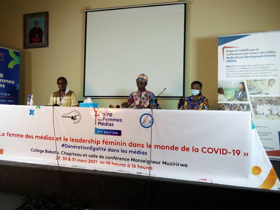 Kinshasa : la 2e édition de la foire des femmes des médias s'est clôturée ce mercredi
