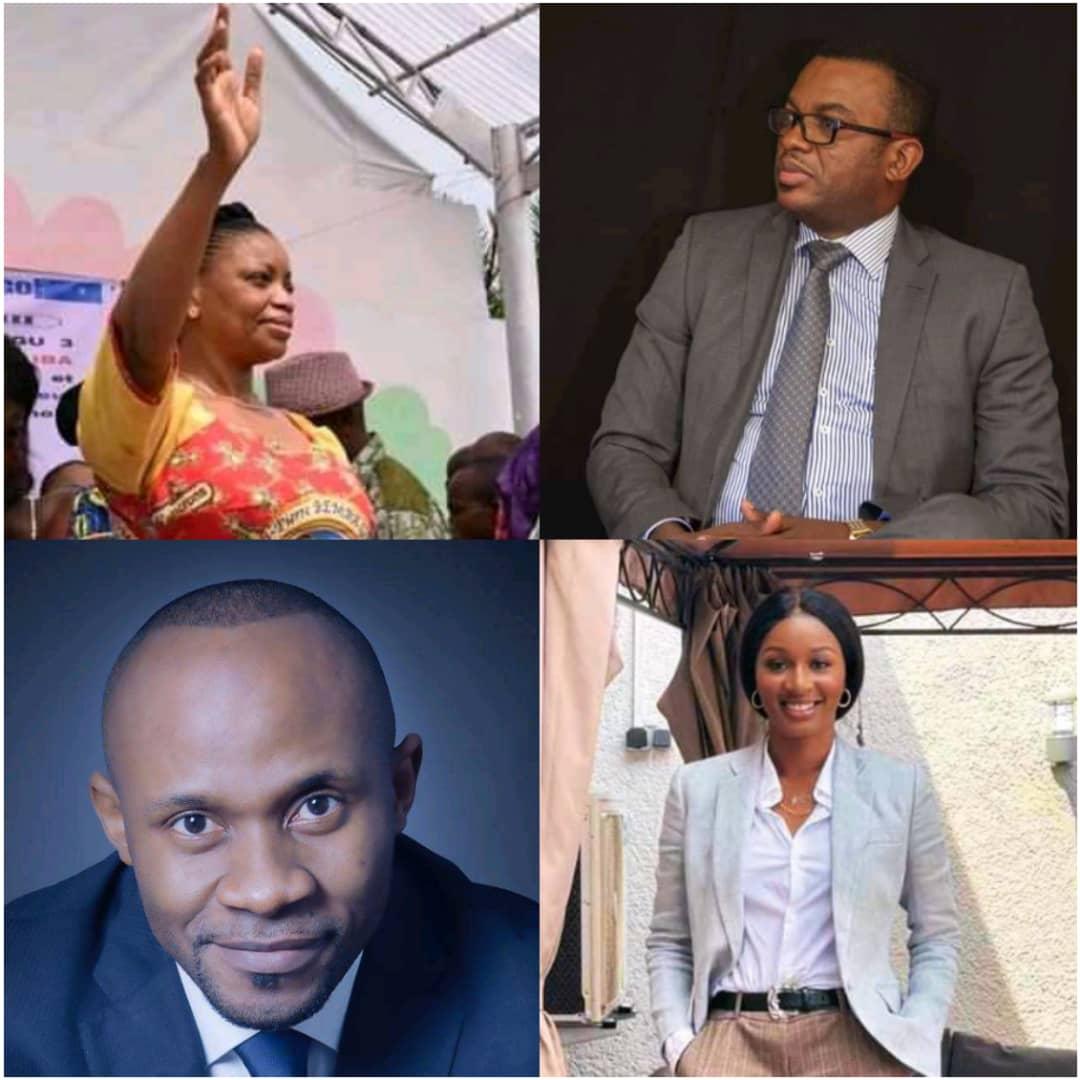 Ève Bazaiba, Patrick Muyaya, Tony Mwaba, Jean Pierre Lihau et les députés nationaux nommés Ministres dans le gouvernement Sama Lukonde