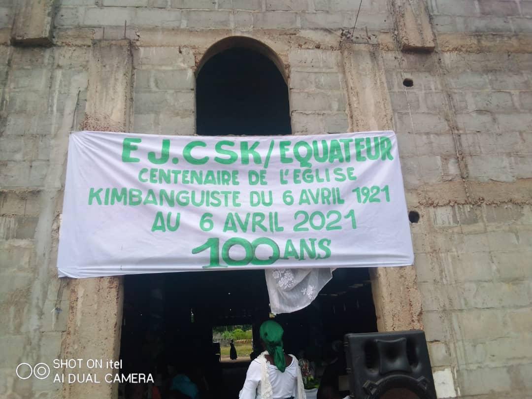 Festivités du centenaire de L'Église Kimbanguiste à travers le monde : l'Église de la Province de l'Équateur n'est pas restée inaperçue