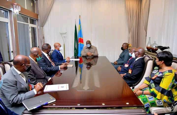 RDC : entretien entre Félix Tshisekedi et les 9 juges de la Cour constitutionnelle