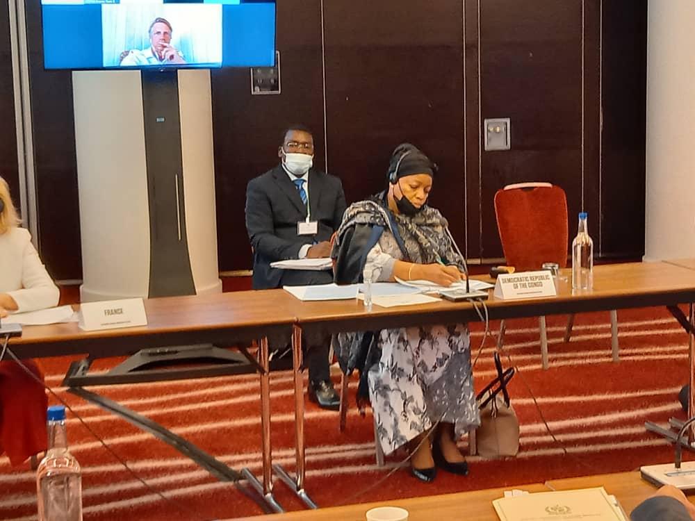 Environnement/COP 26 : Ève Bazaïba à Londres pour représenter la RDC
