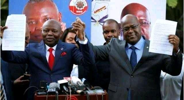 Politique : Cette déclaration pleine d'amour de Félix Tshisekedi à Vital Kamerhe