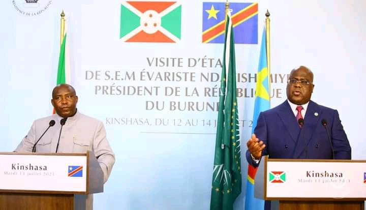 Coopération RDC/Burundi : Signature de 4 mémorandums d'entente dont un sur la facilitation des échanges commerciaux