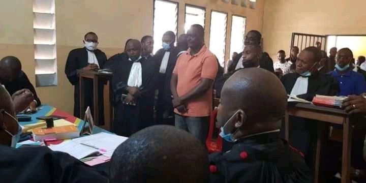 Justice : pour incitation à la désobéissance civile, Jacky Ndala écope de 2 ans de prison