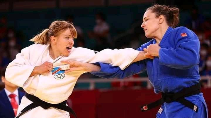 JO Tokyo 2020 : la judokate Marie Branser éliminée de la compétition !