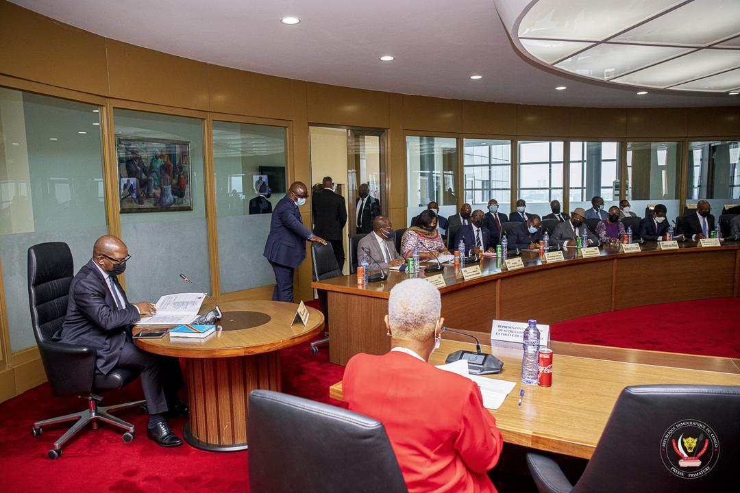 PRIMATURE/Retrait progressif de la MONUSCO : mise en place d'un Groupe de travail conjoint Gouvernement-Monusco sous le leadership du Premier Ministre Sama Lukonde