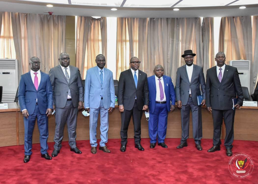 PRIMATURE : Le Premier Ministre Sama Lukonde évalue avec le caucus des députés de l'Ituri l'état de siège deux mois après sa mise en œuvre