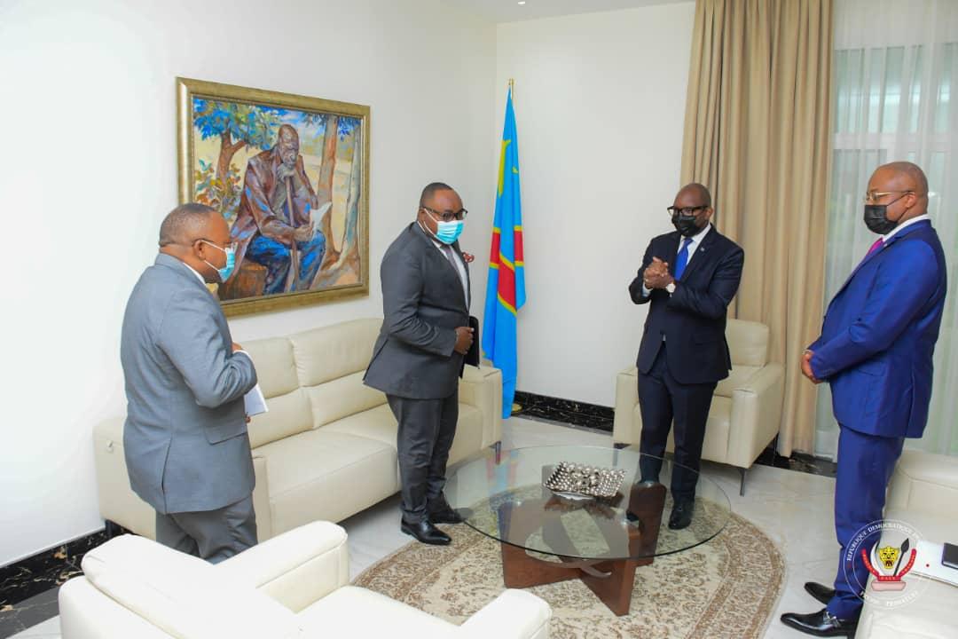 PRIMATURE : Le Premier Ministre Sama Lukonde s'investit pour la campagne de Faustin Luanga au poste de Secrétaire Exécutif de la SADEC