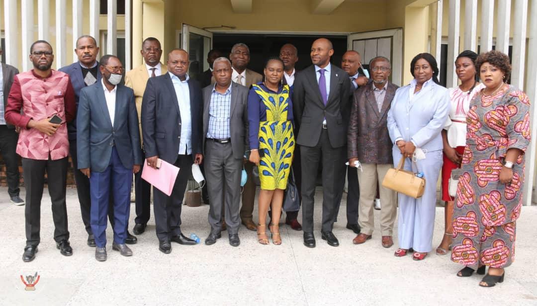 RDC/Médias : Les états généraux de la presse au menu des échanges entre Patrick Muyaya et la dynamique Zongo