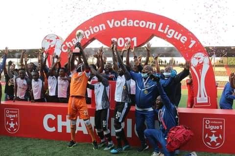 Foot/Vodacom Ligue 1 : Mazembe sacré officiellement champion