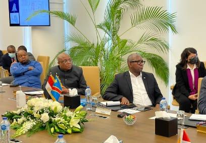 RDC : En visite en Egypte, le premier ministre Jean-Michel Sama Lukonde s'entretient avec quelques opérateurs économiques