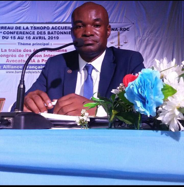 Kananga : La Société Congolaise pour l'État de Droit du bâtonnier Dominique Kambala plaide pour la mise en place d'un cadre légal en RDC