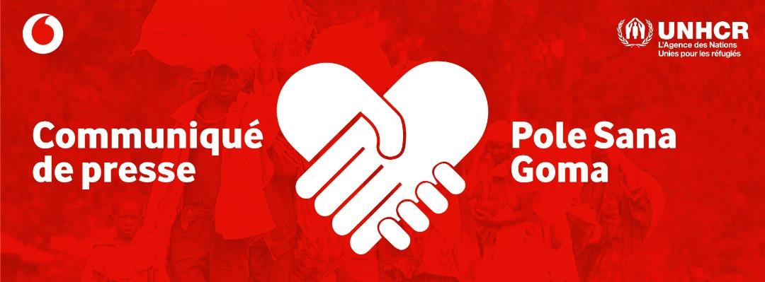 Vodacom Congo, La Fondation Vodafone et le HCR apportent leur soutien aux communautés de la RDC affectées par l'éruption volcanique en lançant une campagne nationale de collecte de fonds.