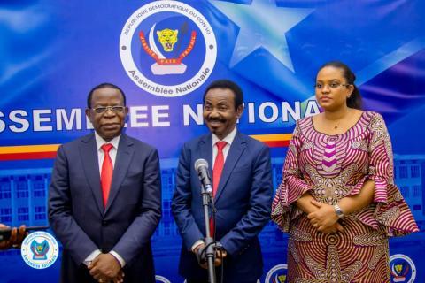 RDC/Ceni : « Leurs quotas resteront vacants » Christophe Mboso N'kodia aux composantes qui n'ont pas déposé les dossiers de leurs délégués