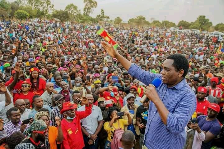 Zambie : Hakainde Hichilema le nouvel homme fort du pays