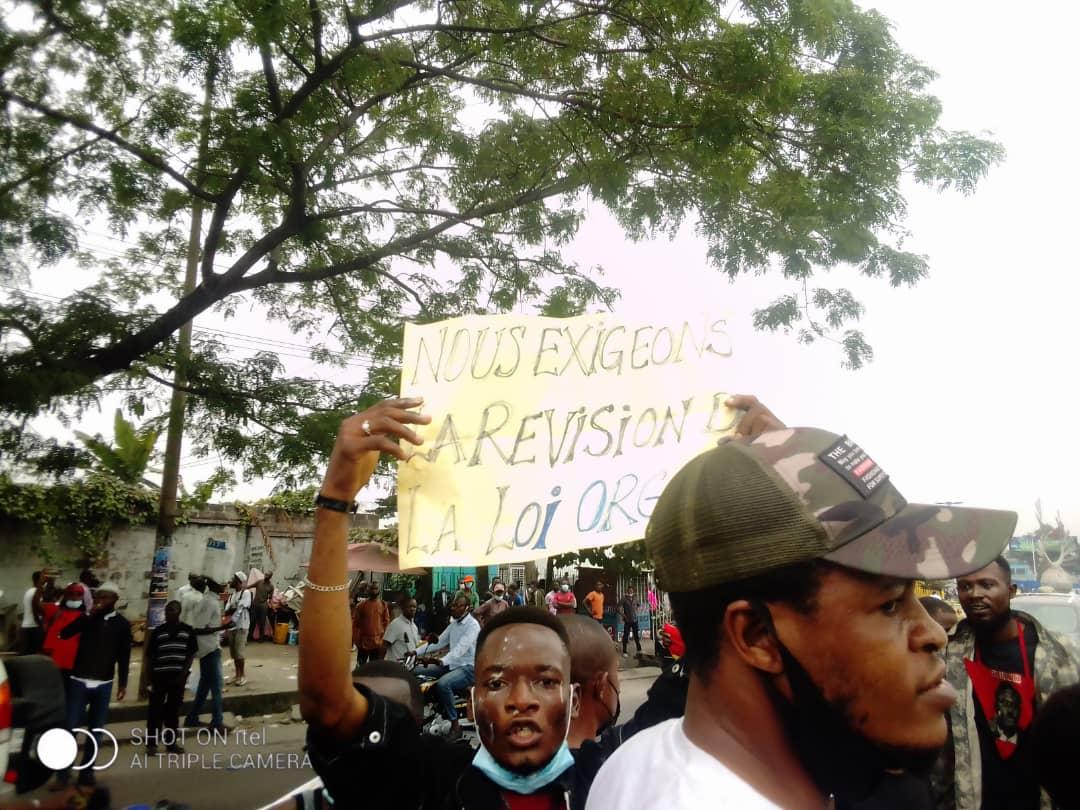 Manifestation au palais du peuple  : la marche de la LUCHA dispersée par la police