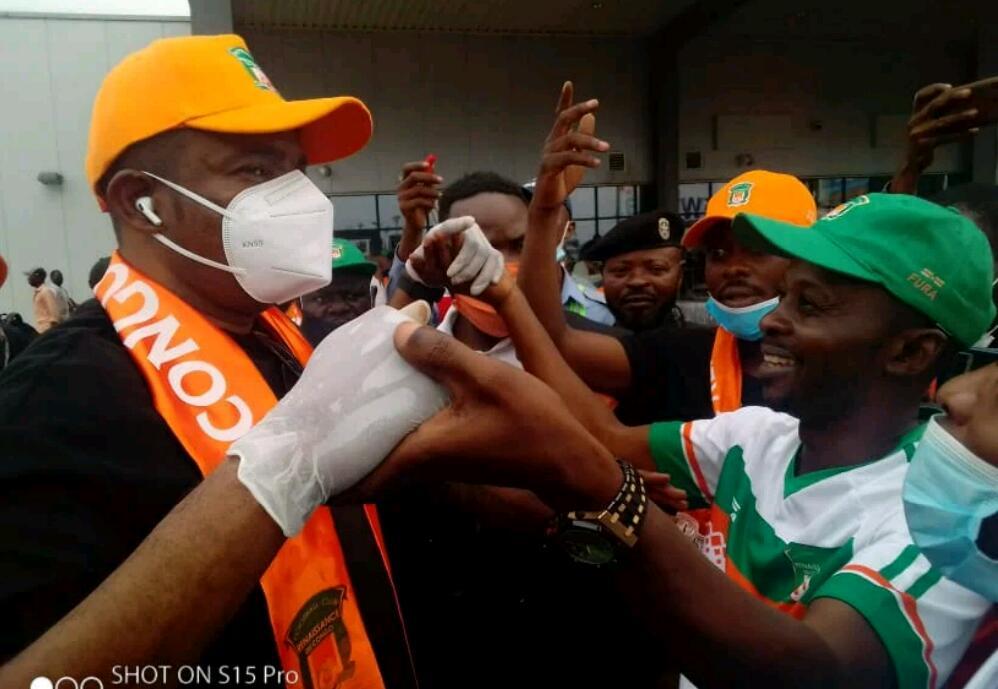 Foot/RDC : l'accueil chaleureux des supporters du FC Renaissance à Willy Mandala