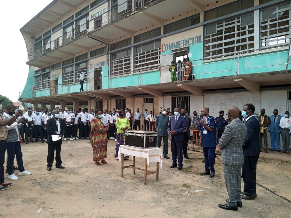Kasaï Central : Le ministre provincial de l'éducation lance officiellement les épreuves de l'examen d'État à Kananga