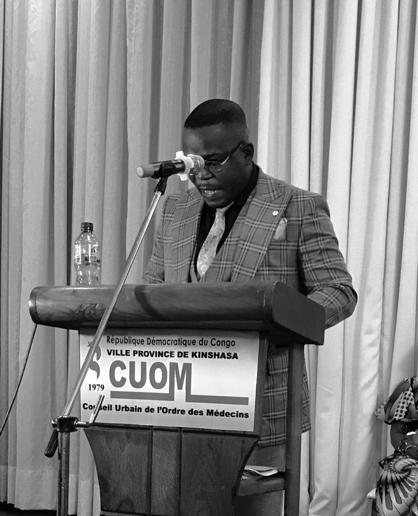 29è journée déontologique de Kinshasa : le docteur Elvis Bula appelle les médecins au respect du code de déontologie