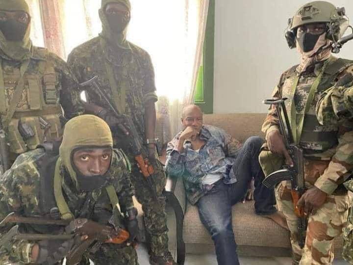 Guinée Conakry : Chute du président Alpha Condé