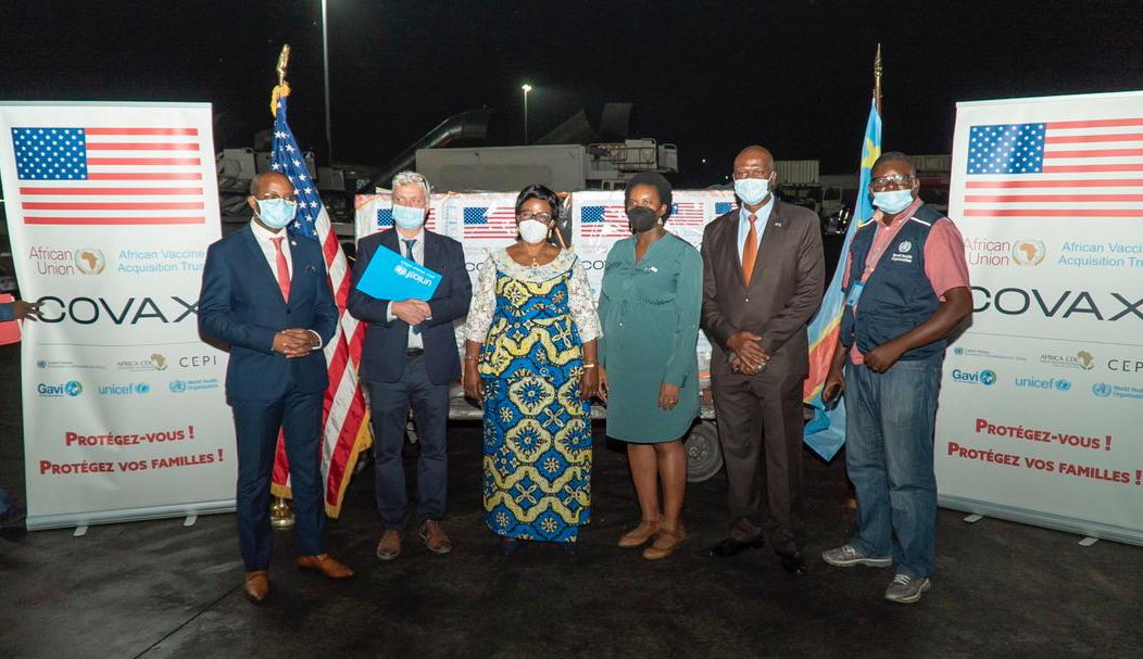 RDC/Lutte contre la Covid 19 : plus de 250 mille doses du vaccin moderna réceptionnées à Kinshasa
