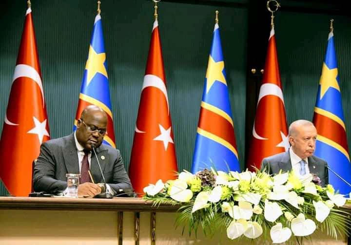 Diplomatie : la RDC signe trois accords avec la Turquie dont un portant sur le Tourisme